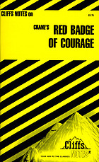 The Red badge of courage, notes