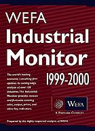 WEFA industrial monitor 1999-2000