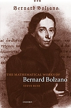 The mathematical works of Bernard Bolzano