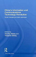 China's information and communications technology revolution social changes and state responses