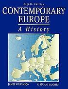 Contemporary Europe : a history