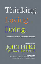 Thinking, loving, doing