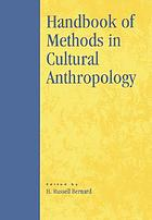 Handbook of methods in cultural anthropology