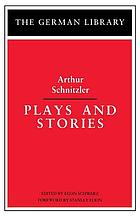 Plays and stories