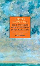 Letters, summer 1926