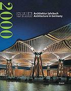 Architektur jahrbuch. Architecture in Germany