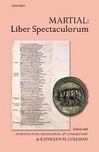 M. Valerii Martialis Liber spectaculorum