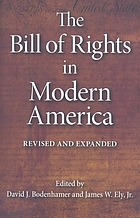 The Bill of Rights in modern America : after 200 years