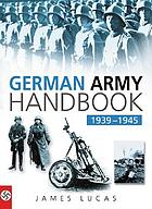 The German Army handbook