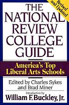 The National Review college guide : America's 50 top liberal arts schools