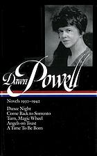 Novels, 1930-1942