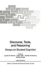 Discourse, tools, and reasoning : essays on situated cognition