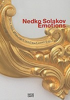 Nedko Solakov : emotions
