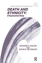Death and ethnicity : a psychocultural study