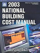 2003 national building cost manual