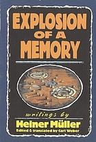 Explosion of a memory : writings