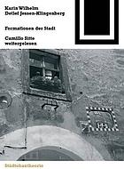 Formationen der Stadt Camillo Sitte weitergelesen