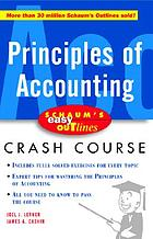 Principles of accounting : based on Schaum's Principles of accounting I