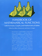 Handbook of mathematical functions with formulas, graphs, and mathematical tablesHandbook of mathematical functionsHandbook of Mathematical Funktions : with formulas, graphs, and mathematical tables