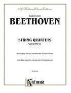 String quartets for two violins, viola and violoncello