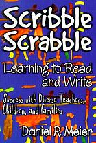 Scribble scrabble--teaching children to become successful readers and writers