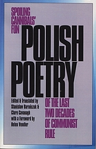 Polish poetry of the last two decades of communist rule : spoiling cannibals' fun