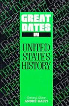 Great dates in United States history