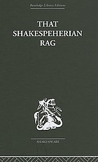 That Shakespeherian rag : essays on a critical process
