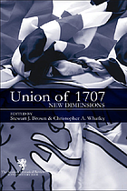 The Union of 1707 : new dimensions