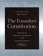 The Founders' Constitution