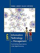 Information technology for management : making connections for strategic advantage