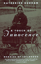 A touch of innocence : memoirs of childhood