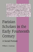 Parisian scholars in the early fourteenth century : a social portrait