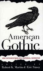American gothic : new interventions in a national narrative