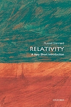 Relativity : a very short introduction