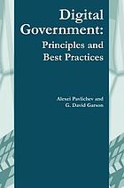 Digital government : principles and best practices