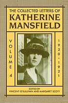 The collected letters of Katherine Mansfield / 1920-1921