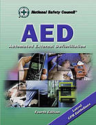 AED : automated external defibrillation