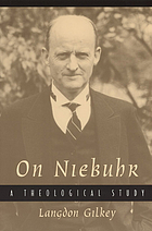 On Niebuhr : a theological study