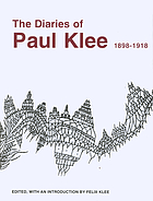 The diaries of Paul Klee, 1898-1918