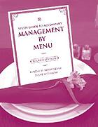 Study guide to accompany Management by menu, fourth edition