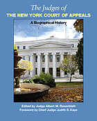 The judges of the New York Court of Appeals : a biographical history