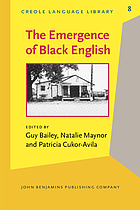 The Emergence of Black English : text and commentary