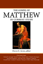 The Gospel of Matthew in current study : studies in memory of William G. Thompson, S.J.