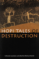 Hopi tales of destruction