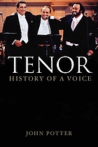 Tenor : history of a voice