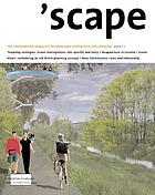 'Scape : the international magazine of landscape architecture and urbanism