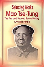 Selected works of Mao Tse-tung
