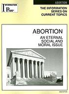 Abortion, an eternal social and moral issue