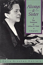 Always a sister : the feminism of Lillian D. Wald